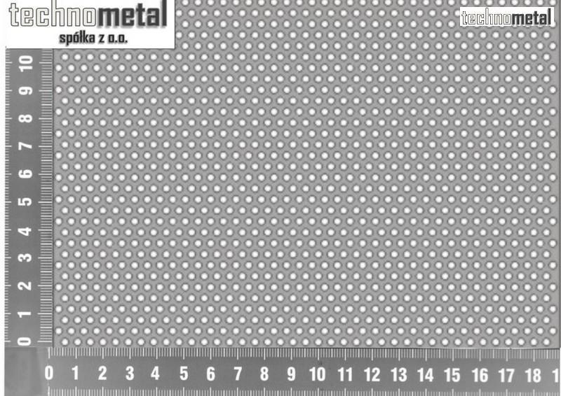 Modish Blacha perforowana 1x1000x2000 Rv 1,5-2,5 nierdzewna 1.4301 KZ94